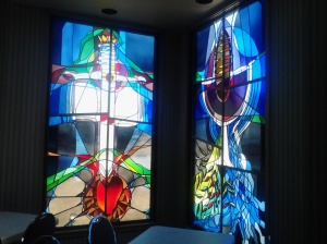 Stained Glass Window at the People Program.