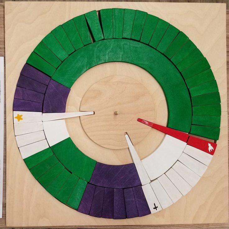 Wooden Liturgical Calendar
