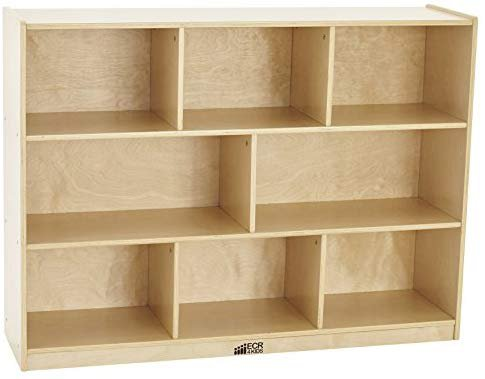 8-Section School Classroom Storage Cabinet